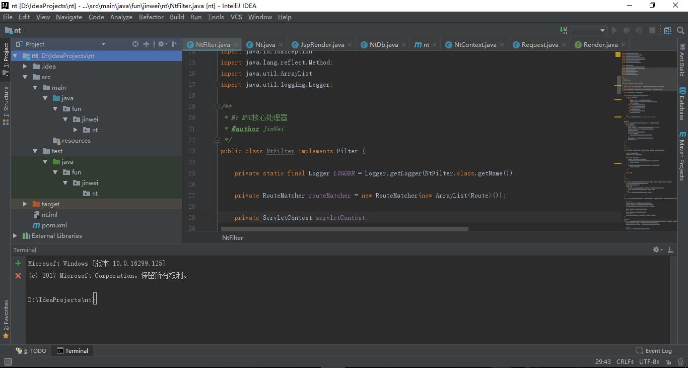 设计一个 JavaWeb MVC 框架并实现了基于这个框架做开发